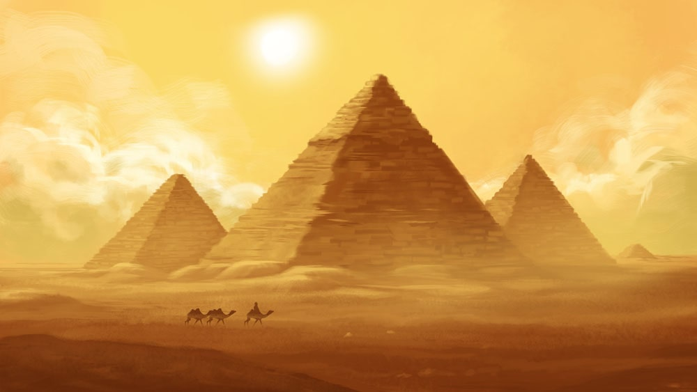 Most maturity models are based on different levels, like the pyramids